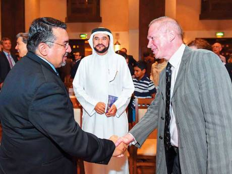 Ismaili Centre in Dubai hosts talk on space tech with Astronaut Frank De Winne