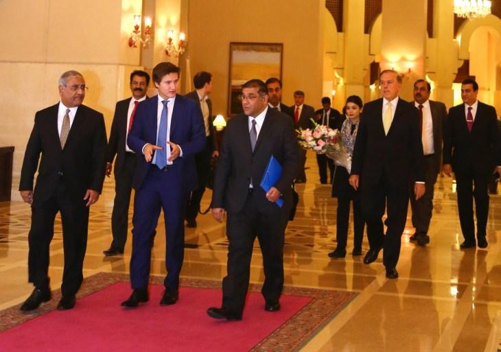 Prince Aly Muhammad Aga Khan reaches Pakistan