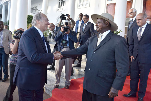 Uganda: Aga Khan here as a special guest for 55th Uhuru celebrations
