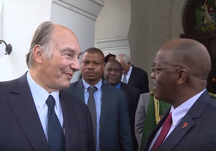 His Highness the Aga Khan in Tanzania - Developing the Role of the Media