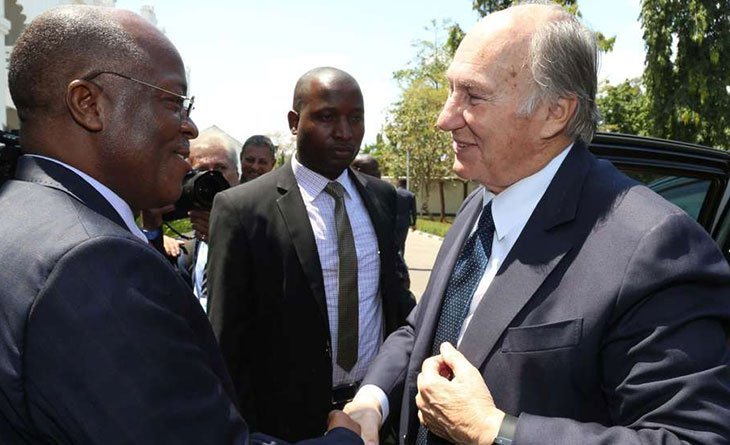 Aga Khan arrives in Dar es Salaam for two-day visit | Business Daily Africa