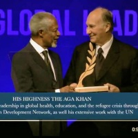 Video Highlights: Champion for Global Change Award for His Highness the Aga Khan by United Nations Foundation