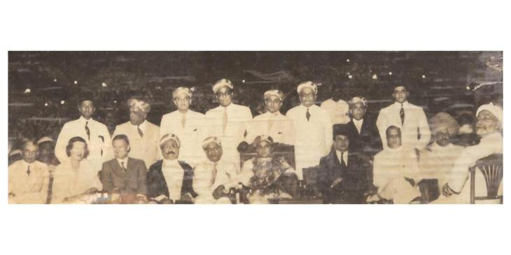 Historical Photograph: Bombay Wedding Ceremony 1930s