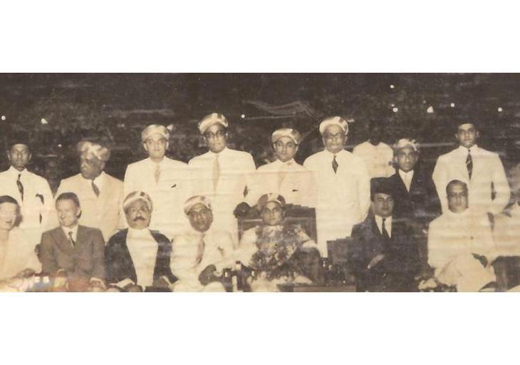 Historical Photograph: Bombay Wedding Ceremony 1930s