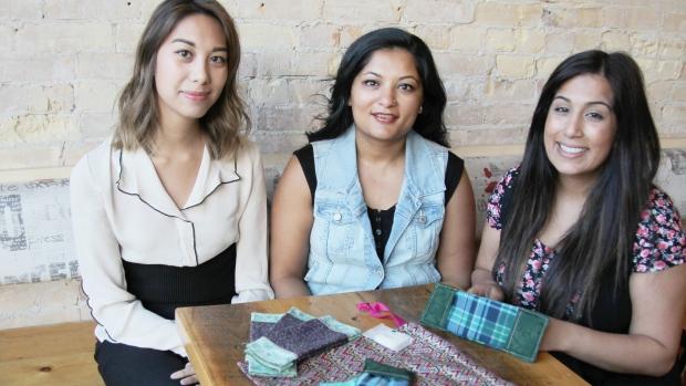 Nurses and teacher help destigmatize menstruation with hand sewn kits