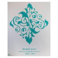 Diamond Jubilee Motif Artwork | Mubarak's Art