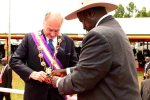 Uganda's Grand Master Pearl of Africa Medal for His Highness the Aga Khan