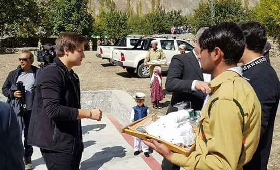 Prince Aly Muhammad arrives in Gilgit-Baltistan
