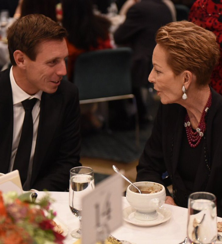 Nash Velshi: Leader of Her Majesty's Loyal Opposition in Ontario Province Patrick Brown meets The International Ambassador of SOS Children's Villages Princess Salimah Aga Khan at its Charity Gala, Granite Club, Toronto, Canada