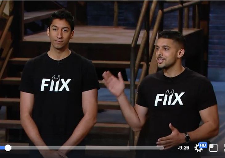 (Video) Watch Arif Bhanji, Zain Manji of FIIX on CBC's Dragon's Den