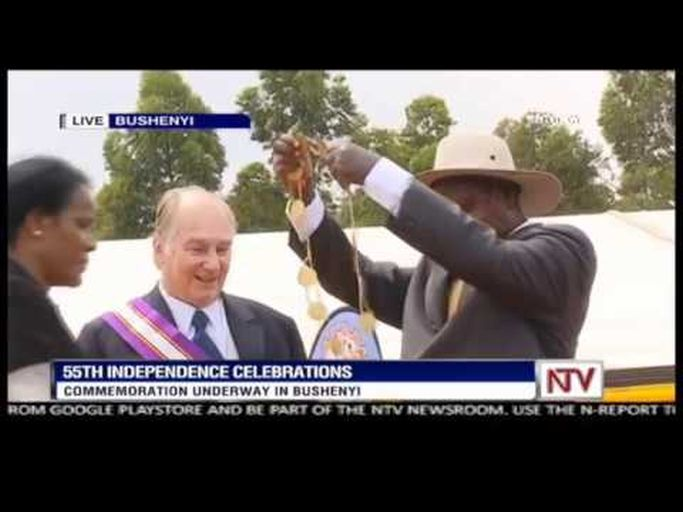 Museveni decorates Aga Khan with Grand Master Medal | The Citizen Uganda
