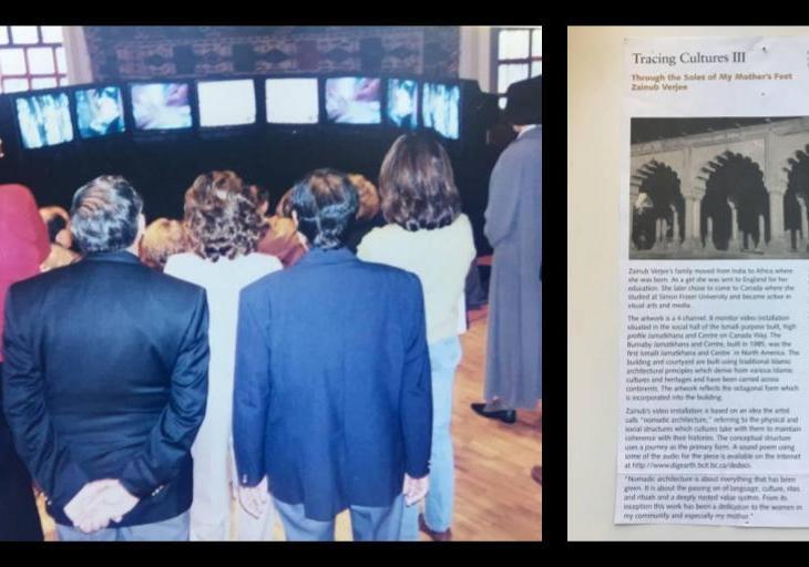 Nomadic Architecture showcased two decades ago at Burnaby Jamatkhana