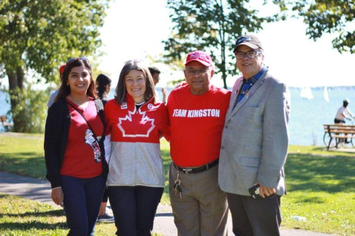 "Kingston's first World Partnership Walk was a ""huge success."""