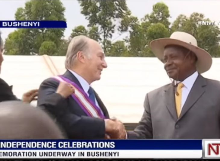 NTV Video: His highness the Aga Khan decorated with Uganda's highest medal of honour
