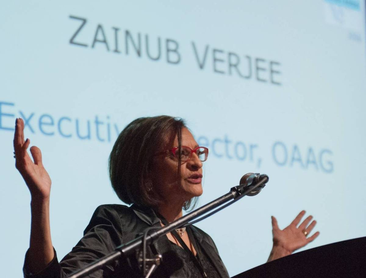 Future of Art Galleries - keynote by Zainub Verjee
