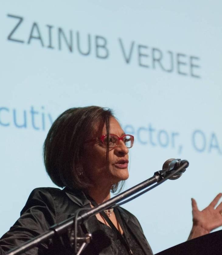 Future of Art Galleries - keynote by Zainub Verjee