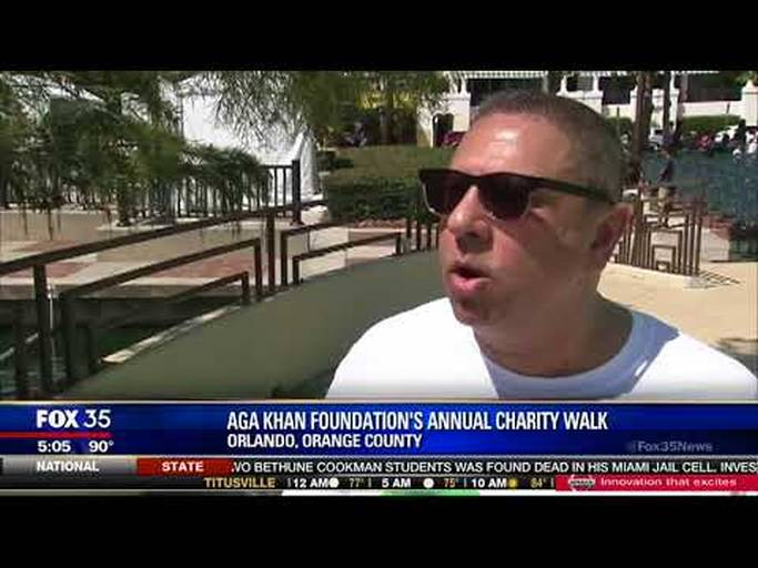 Shaun Ajani: Fox News: Aga Khan Foundation Walk, Tampa, Forida