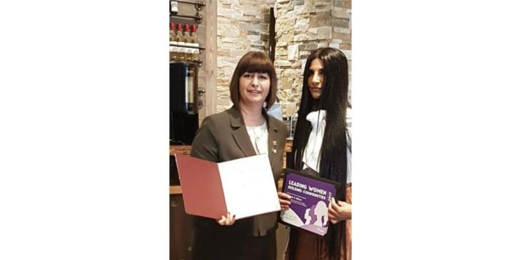 Zaheeda P. Alibhai receives 2017 Leading Women Leading Girls Building Communities Award from the Canadian Ministry of the Status of Women