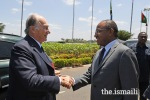 His Highness the Aga Khan concludes his visit to Tanzania