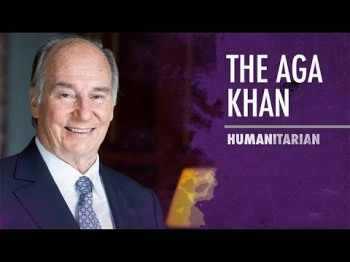 The Aga Khan Accepts Asia Society Asia Game Changer Lifetime Achievement Award