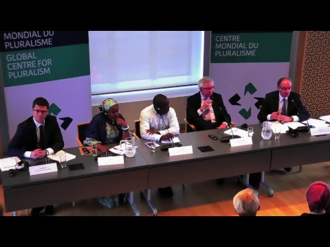 Global Pluralism Award 2017 Press Conference