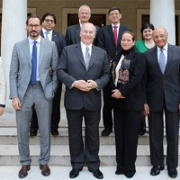 His Highness the Aga Khan presides inaugural meeting of University of Central Asia's Board of Trustees