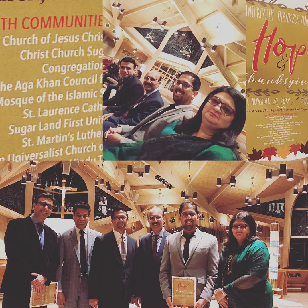 Ismaili Choir participatesin the annual Interfaith Thanksgiving Service