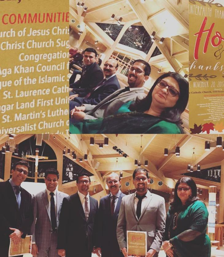 Ismaili Choir participates in the annual Interfaith Thanksgiving Service