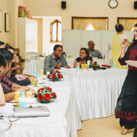 Dr. Farida Virani conducts workshop for couples, newly married or engaged | National Conciliation and Arbitration Board in partnership with the Social Welfare Board, India