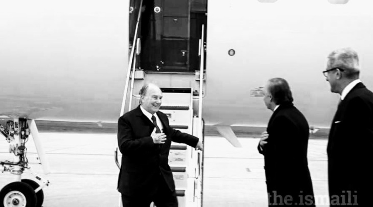 Mawlana Hazar Imam arrives in Canada for a Mulaqat with the Jamat, and to Inaugurate the Global Pluralism Awards