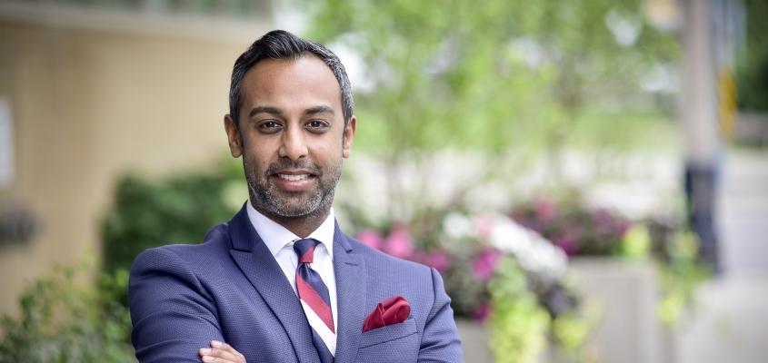 Aly-Khan Rajani: Called to serve
