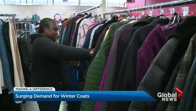 Alykhan Suleman: New Circle lets low-income Torontonians get warm winter clothing | Globalnews.ca