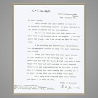 Jinnah's Letter to the Rahimtoolas