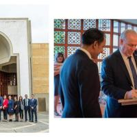 Premier of British Columbia, John Horgan tours Ismaili Centre Burnaby