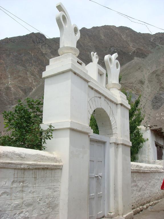 Khanabad Jamatkhana, Hunza, Pakistan