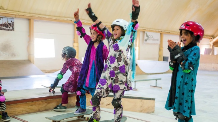 "Curator's Tour: ""Skate Girls of Kabul"""