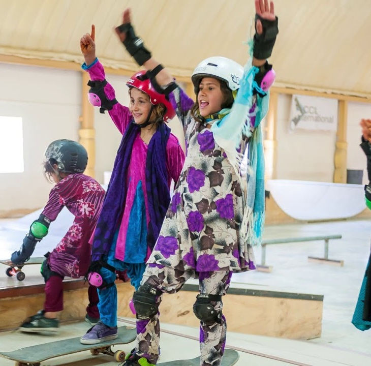 "Curator's Tour: ""Skate Girls of Kabul"""