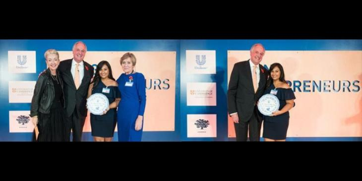 Sabrina Natasha Habib Wins Unilever Young Entrepreneurs Award 2017