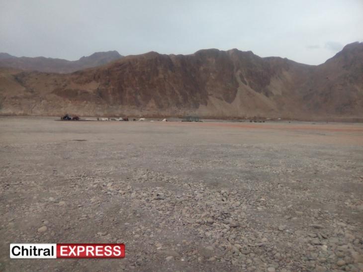Chitral: Visit of His Highness the Aga Khan - Ismaili volunteers start repairing broken road