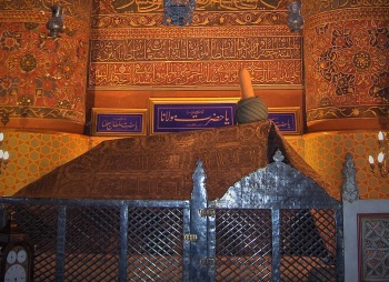 Tomb of Rumi Konya Turkey (Wikimedia Commons)