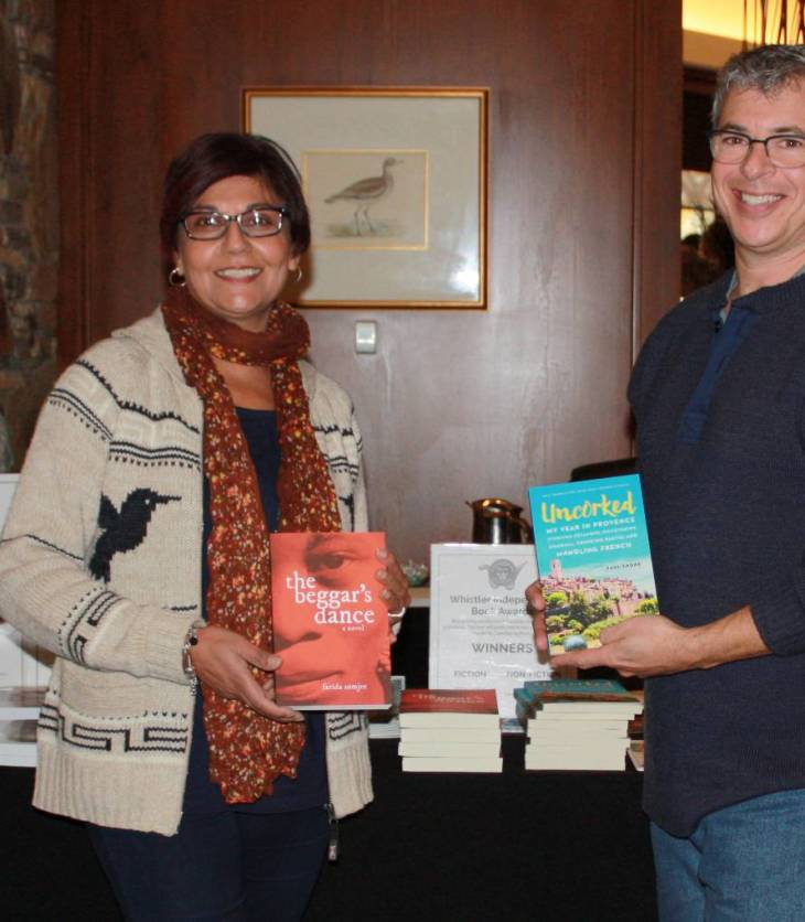 Farida Somjee receives 2017 Fiction Award at the 16th Annual Whistler Writers Festival