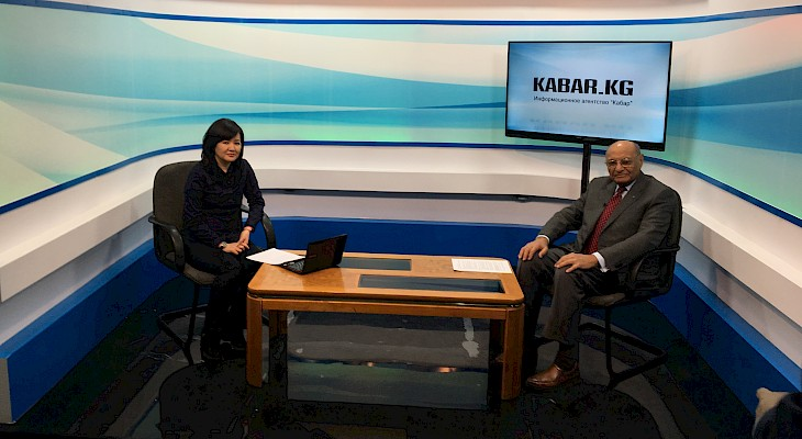Shamsh Kassim-Lakha's TV Interview with Kabar News Agency