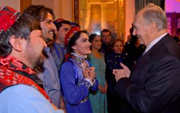 His Highness the Aga Khan's 80th Birthday Celebration. Aiglemont, December 16, 2016