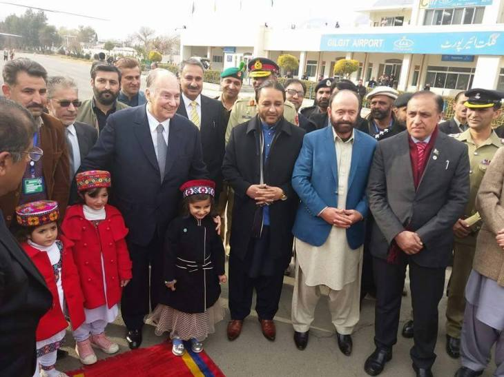 His Highness Prince Karim Aga Khan in Gilgit - Video and Report in Urdu | Pamir Times
