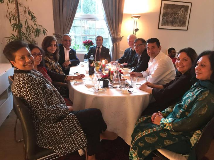 Denmark: The Ambassador of Pakistan conveyed his admiration and respect for the contribution of Aga Khan and AKDN for the development of Pakistan | Passu Times