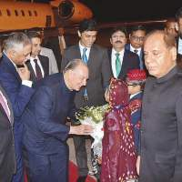 Prince Karim Aga Khan arrives in Karachi | Dawn Pakistan