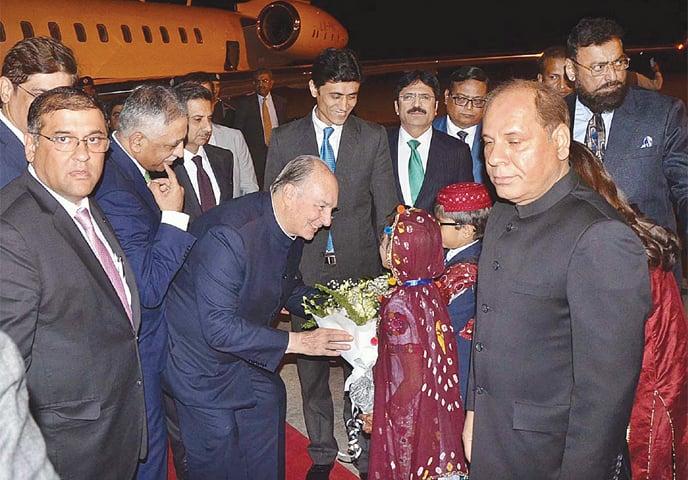 Prince Karim Aga Khan arrives in Karachi | Dawn Pakistan