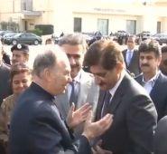 Aga Khan departs Karachi