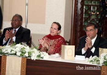Princess Zahra Aga Khan attends institutional dinner in Pakistan