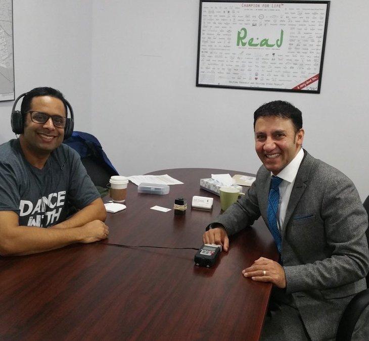Karim Kanji Interviews MP Arif Virani -From Uganda to Ottawa